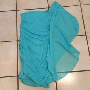Body Central Dresses & Skirts - Turquoise one shoulder dress 👗