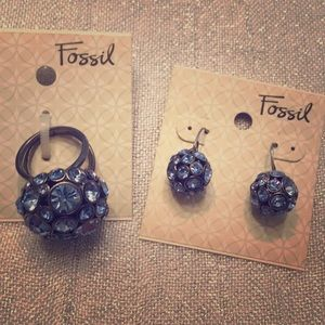 Fossil Jewelry - Fossil Blue Bling Set