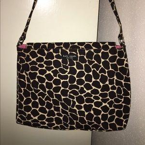 Kate spade animal print bag