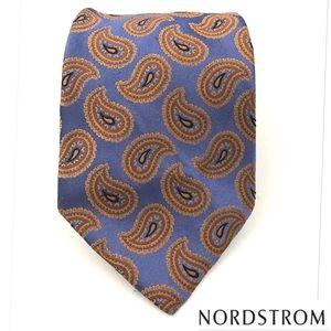 John W. Nordstrom Other - John Nordstrom Paisley Print Luxury Silk Tie