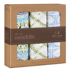 aden + anais Other - Aden Anais Silky Bamboo Swaddle Blankets Wild One