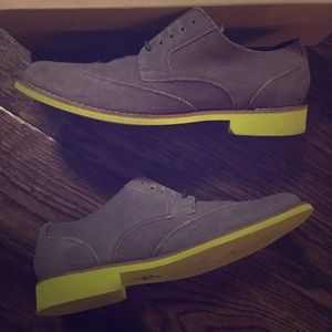 Cole Haan Other - COLE HAAN - gray with neon yellow soles