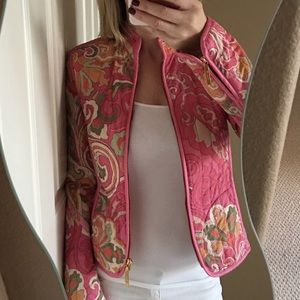 Etro Jackets & Blazers - ✨Etro Paisley Patterned Quilted Zip Up Jacket✨