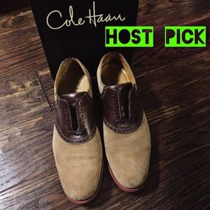 Cole Haan Other - ✨HP✨ COLE HAAN - Derby Saddle.Ox.II