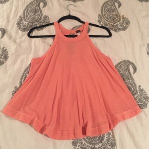 We the Free free people coral tank top