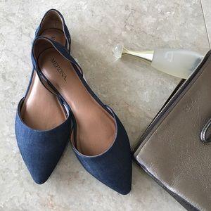 Merona Shoes - Denim blue Merona d'orsay flats