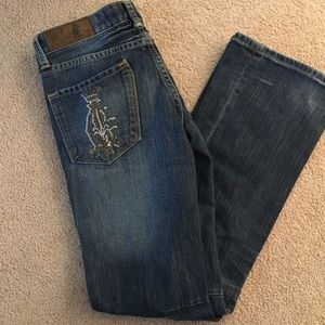 Christian Audigier Denim - Christian Audigier Jeans Sz29  Inseam34""