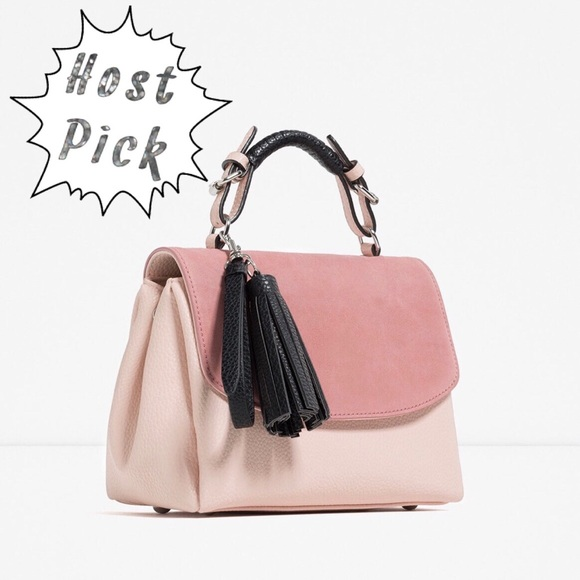 840fdc4cfd ... Zara Women's Contrast Glam City Bag. M_5852f82b4127d0a4c10025e6