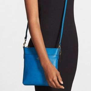 Coach Handbags - ⭐️2x HP⭐️Coach Turquoise Leather Crossbody Handbag