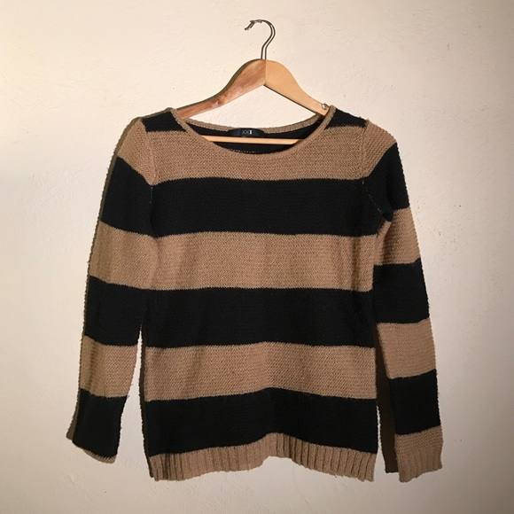 Forever 21 - Brown & Black Stripe Sweater from Sarah's closet on ...