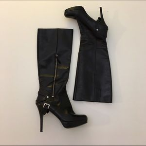 Nine West Shoes - Nine West Knee High Leather Boots