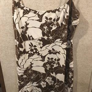 BCBGMaxAzria Floral Tank Dress