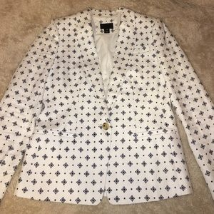 J. Crew Jackets & Blazers - ⬇️ J Crew Collection Lined Linen Blazer Size 10