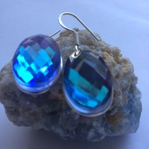 handcrafted Jewelry - ‼️⬇️SALE!‼️🎀STERLING SILVER 🎀AQUA MYSTIC FACETED