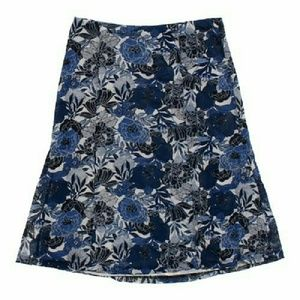 Nine west. Floral skirt.