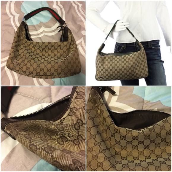 d3d7493fbf6a Gucci Handbags - Preloved Gucci Hobo Bag🌙
