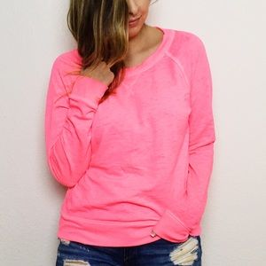 Mossimo Supply Co. Sweaters - Neon Pink Sweater