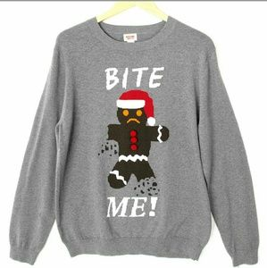 Mossimo Supply Co. Sweaters - Ugly Christmas Sweater - Gingerbread Man