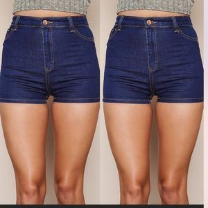 Carrera Pants - High Waist Vintage Carrera Denim Shorts, Size 3