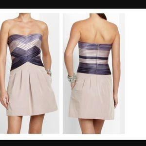 1952d9a5860 BCBGMaxAzria Dresses - BCBGMaxAzria Hana strapless dress NWT