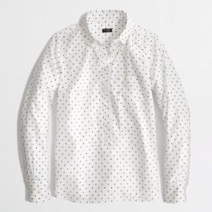 J. Crew Factory printed voile popover