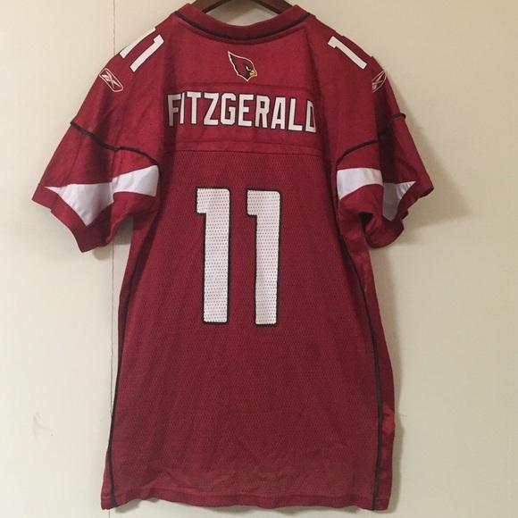b76af341cf29 Larry Fitzgerald Arizona Cardinals Reebok Youth XL.  M 584ce6867fab3a1d6f0078c4