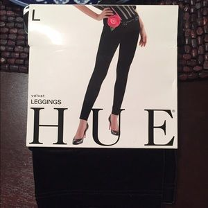 HUE Pants - Hue velvet leggings