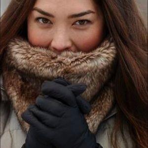 Accessories - Cozy faux fur cowl scarf