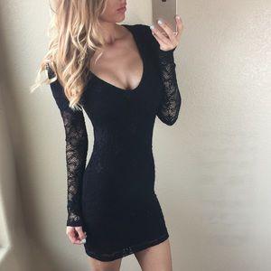 Nightcap Dresses & Skirts - Nightcap Black Lace Dress Size 2 (Small)