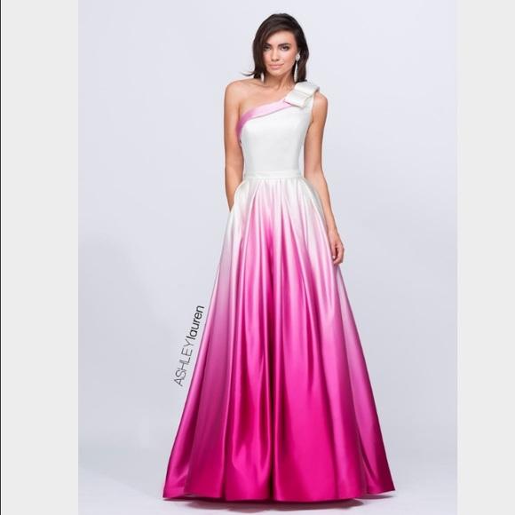 Sherri Hill Dresses | Nwt Ashley Lauren Fuschia Gown 1132 | Poshmark