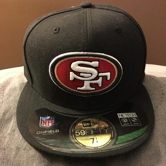 buy popular 147e3 5a7cc NFL San Francisco 49ers New Era Fitted Cap