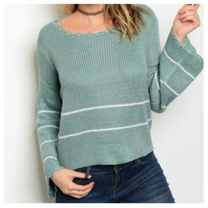 Sweaters - New- Jade Ivory Knit Sweater.