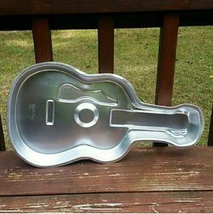 Wilton  Other - Vintage Wilton Guitar Cake Pan
