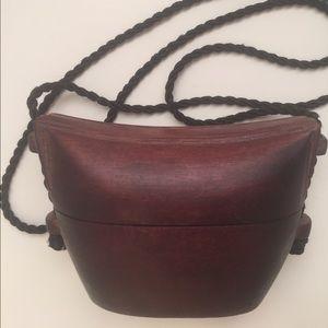 Handbags - Wooden Asian Purse