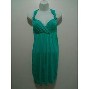 H&M Tops - H&M green racer back dress / long top