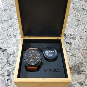 Shinola Other - Shinola Men's Brakeman Watch 46mm