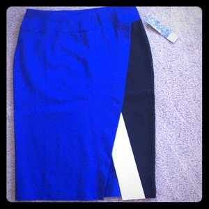 Nordstrom Dresses & Skirts - Sexy Color Block Pencil Skirt NWT