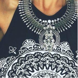 Jewelry - Brand new silver gorgeous bohemian necklace.