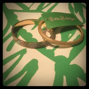 GWP Lilly Pulitzer set of 2 bracelets!