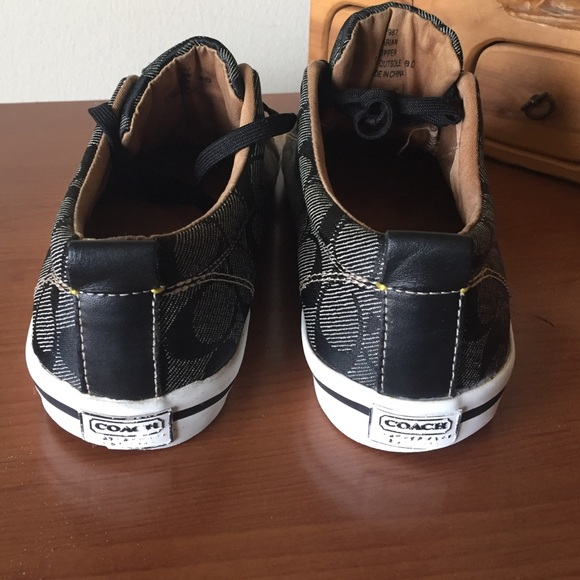 coach coach canvas sneakers from harriet s closet on