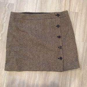 J. Crew Tweed Mini Skirt