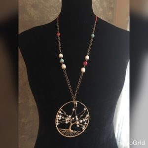 Jewelry - Tree of Life Adjustable Necklace