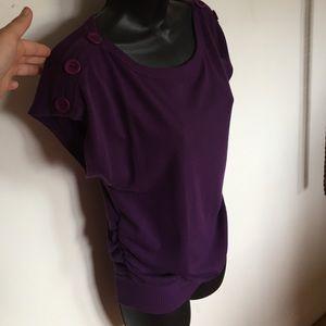 Purple Sweater Top