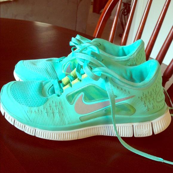 42bc126e5c94 Nike Shoes - Tiffany Blue Nike Free Runs shoes