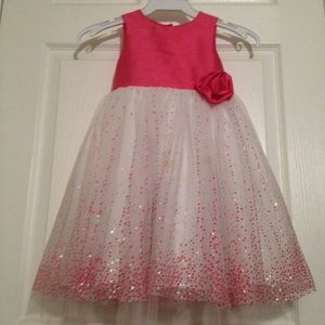 Other - Marmelletta Pink Sparkle Formal Holiday Dress 3t
