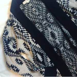 Kohls Sweaters - Aztec Print Cardigan