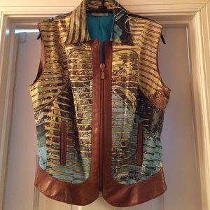 Roberto Cavalli Other - Magnificent Roberto Cavalli Leather Vest