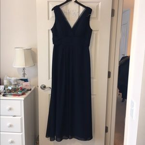 Bill Levkoff Dresses & Skirts - Beautiful Navy Blue Gown in excellent condition.
