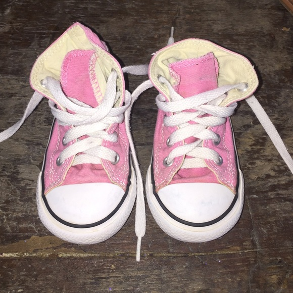 b16004ff3ea4 Converse Other - Pink toddler girl converse shoes size 7