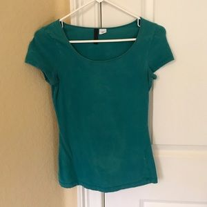 Divided by H&M 6(UK) 2US green top